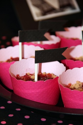 pink-and-black-bridal-shower-dessert-bar-mini-pies