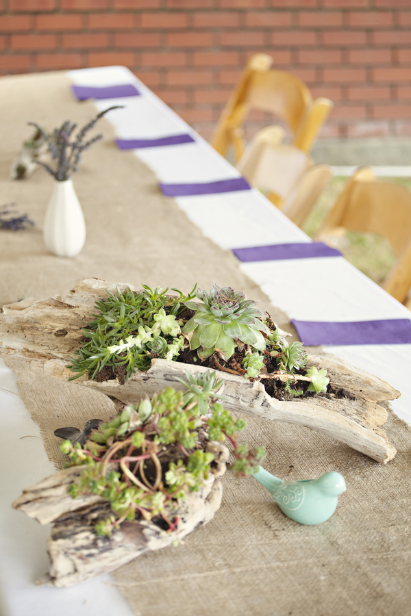 Nikki Benjamin's Woodsy DIY Wedding