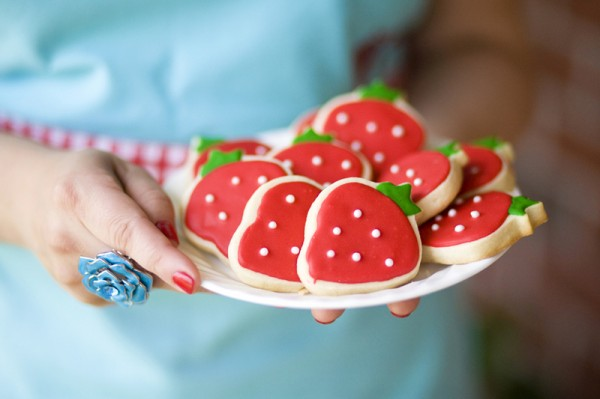 strawberry-sugar-cookies