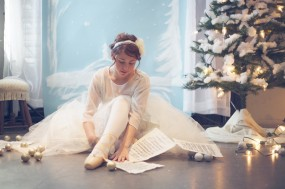 Nutcracker Inspired DIY Winter Wedding Shoot