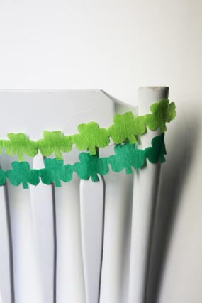 diy-shamrock-streamers