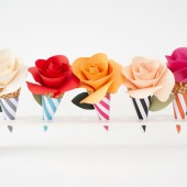 Five Things to Make with Paper Flowers