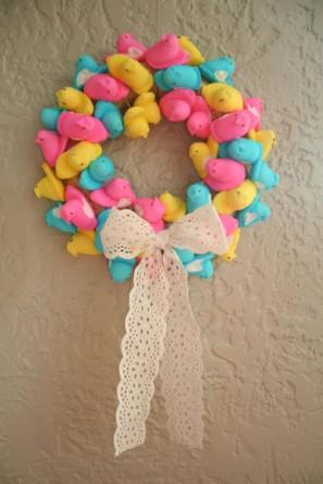 peep-wreath