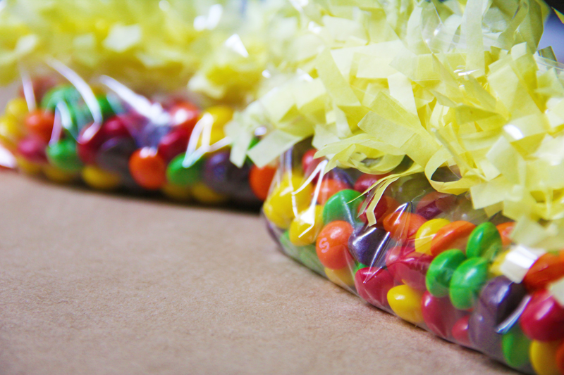 DIY Fringe Treat Bags for Kid's Birthday Parties | Studio DIY