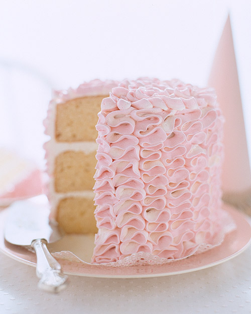 Birthday Cakes with Buttercream Icing