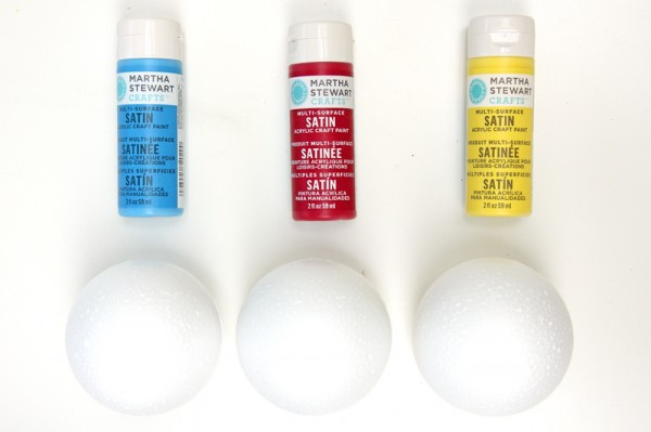 DIY Beach Ball Garland Supplies