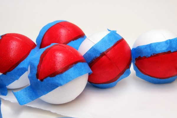DIY Painted Beach Balls