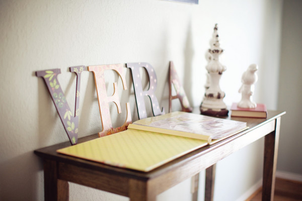 First Birthday Name Sign