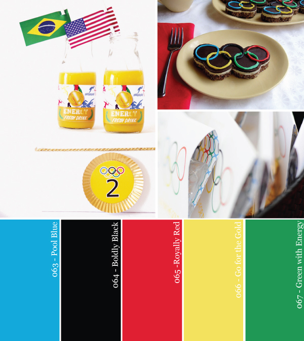 Olympics Party Color Palette