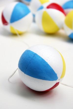 Styrofoam Beach Balls