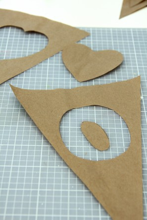 DIY Cut Out Bunting