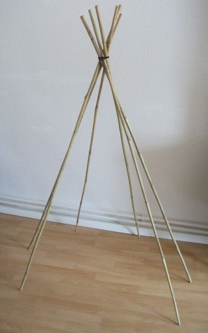DIY Maxi Dress Teepee
