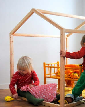 DIY Open Playhouse