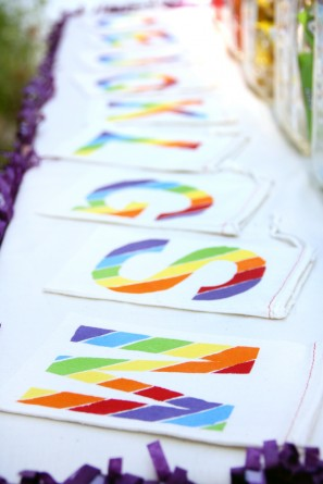 DIY Rainbow Treat Bags