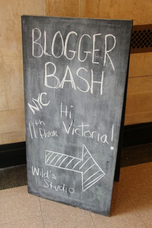 Blogger Bash NYC Sign