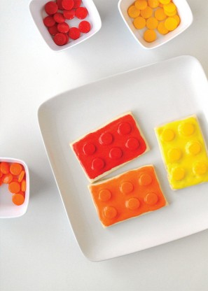 DIY Lego Cookies
