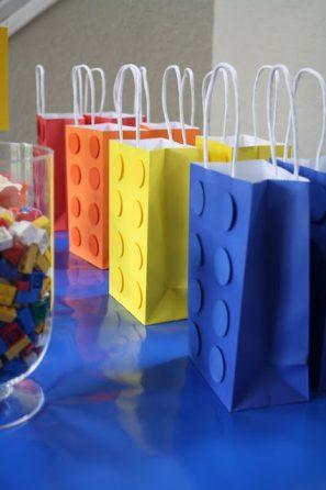 DIY Lego Gift Bags