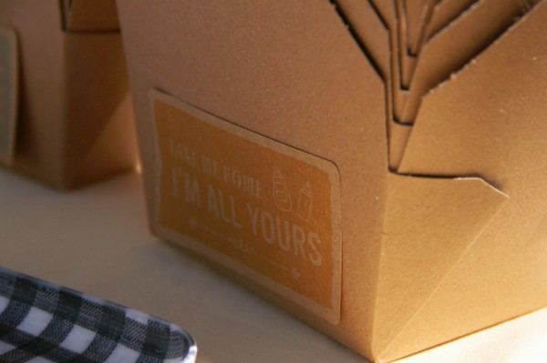 Kraft Paper Take Out Containers