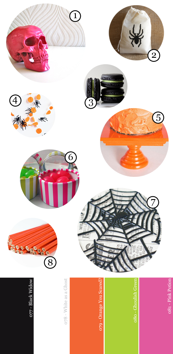 Modern and Bright Halloween Party Supply Guide | Studio DIY