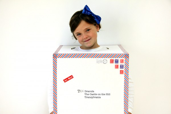 DIY Air Mail Halloween Costume
