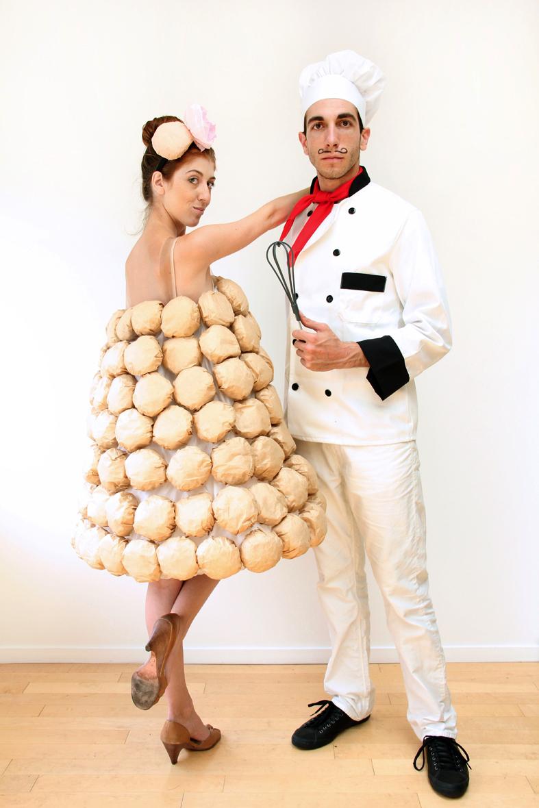 DIY French Chef and Croquembouche CostumeDiy Halloween Costumes