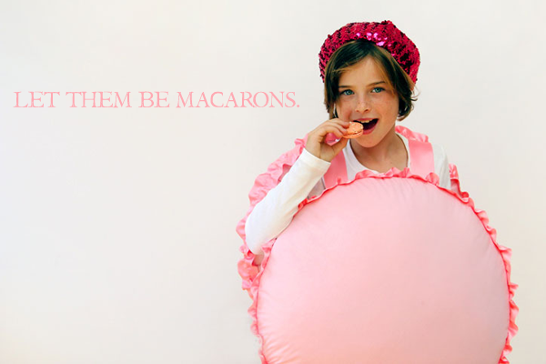 DIY French Macaron Halloween Costume