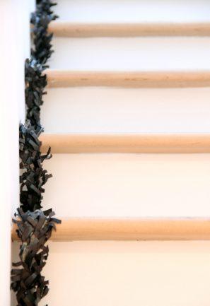 DIY Fringe Staircase
