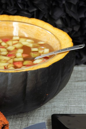 DIY Pumpkin Punch Bowl
