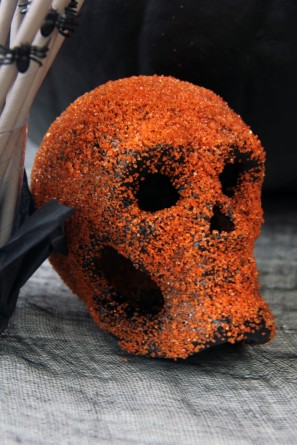 DIY Sprinkle Covered Skull