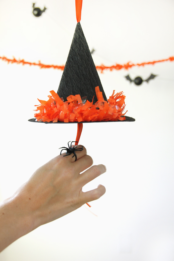 DIY Witch Hat Pinata Tutorial