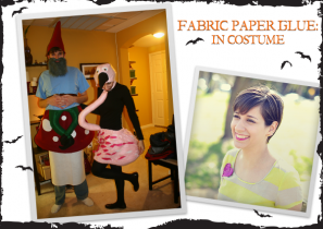 Fabric Paper Glue: In Costume
