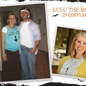 Lulu the Baker: In Costume
