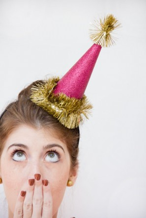 DIY Christmas Party Hats