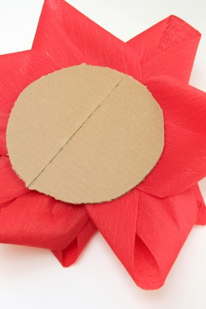 DIY Giant Holiday Bow