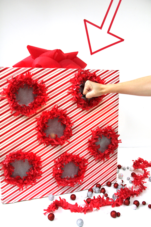 DIY Punch Box Advent Calendar