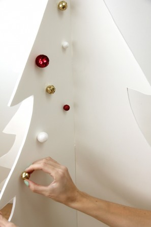 Foam Core Christmas Tree Tutorial