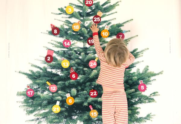 Giant DIY Ikea Advent Calendar