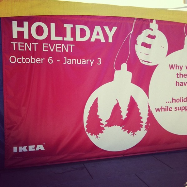 Ikea Holiday Tent