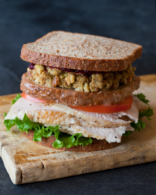 Thanksgiving Leftover Moist Maker Turkey Sandwich