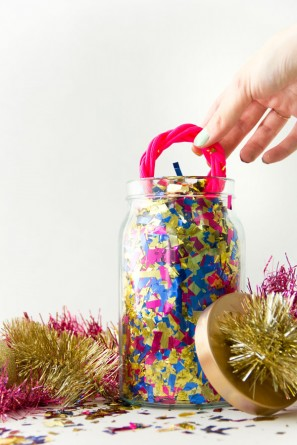 DIY Surprise Confetti Jars