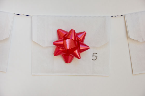 DIY Hanging Advent Calendar