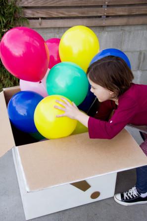 Birthday Balloon Doorstep Surprise