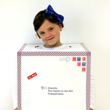 DIY Air Mail Costume