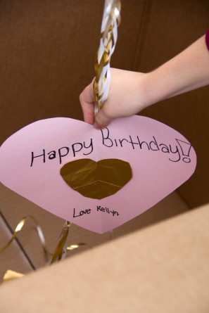 DIY Balloon Surprise Box