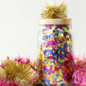 DIY Confetti Surprise Jars