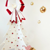 DIY Faux Christmas Tree