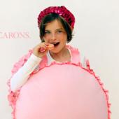 DIY French Macaron Costume