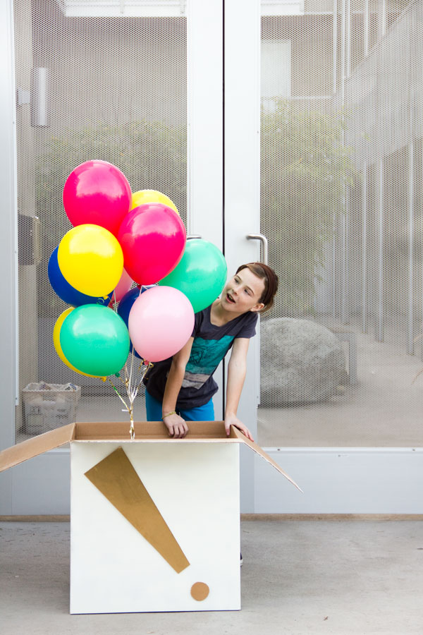 DIY Giant Birthday Balloon Surprise