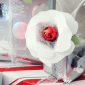 DIY Holiday Paper Flowers