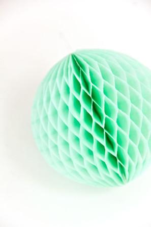DIY Honeycomb Balls